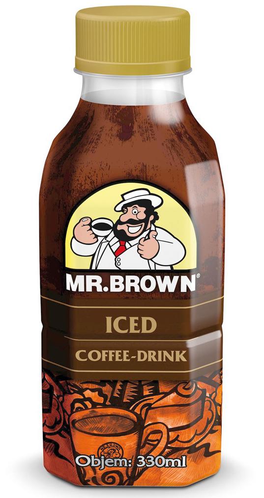 Mr. Brown ľadová káva v PET fľaši