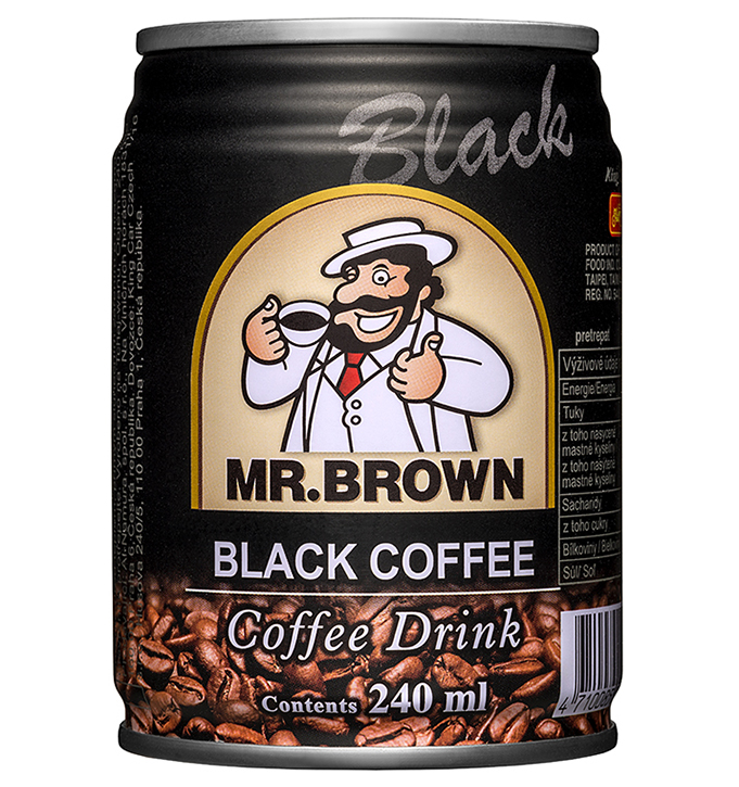 Ľadová káva Mr. Brown Black