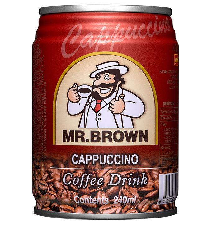 Mr. Brown ľadová káva Cappuccino