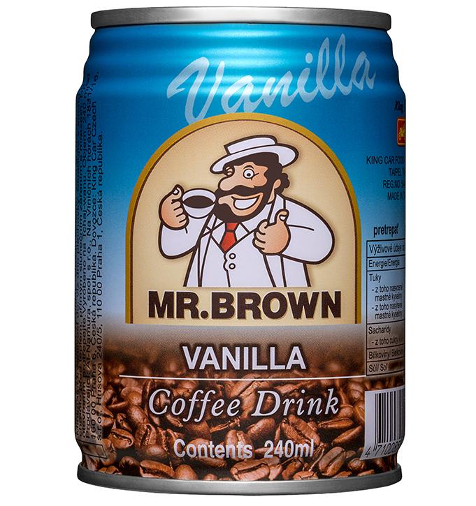 Mr. Brown ľadová káva Vanilla
