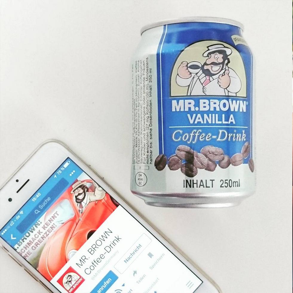 Mr. Brown ľadová káva, ktorá osvieži