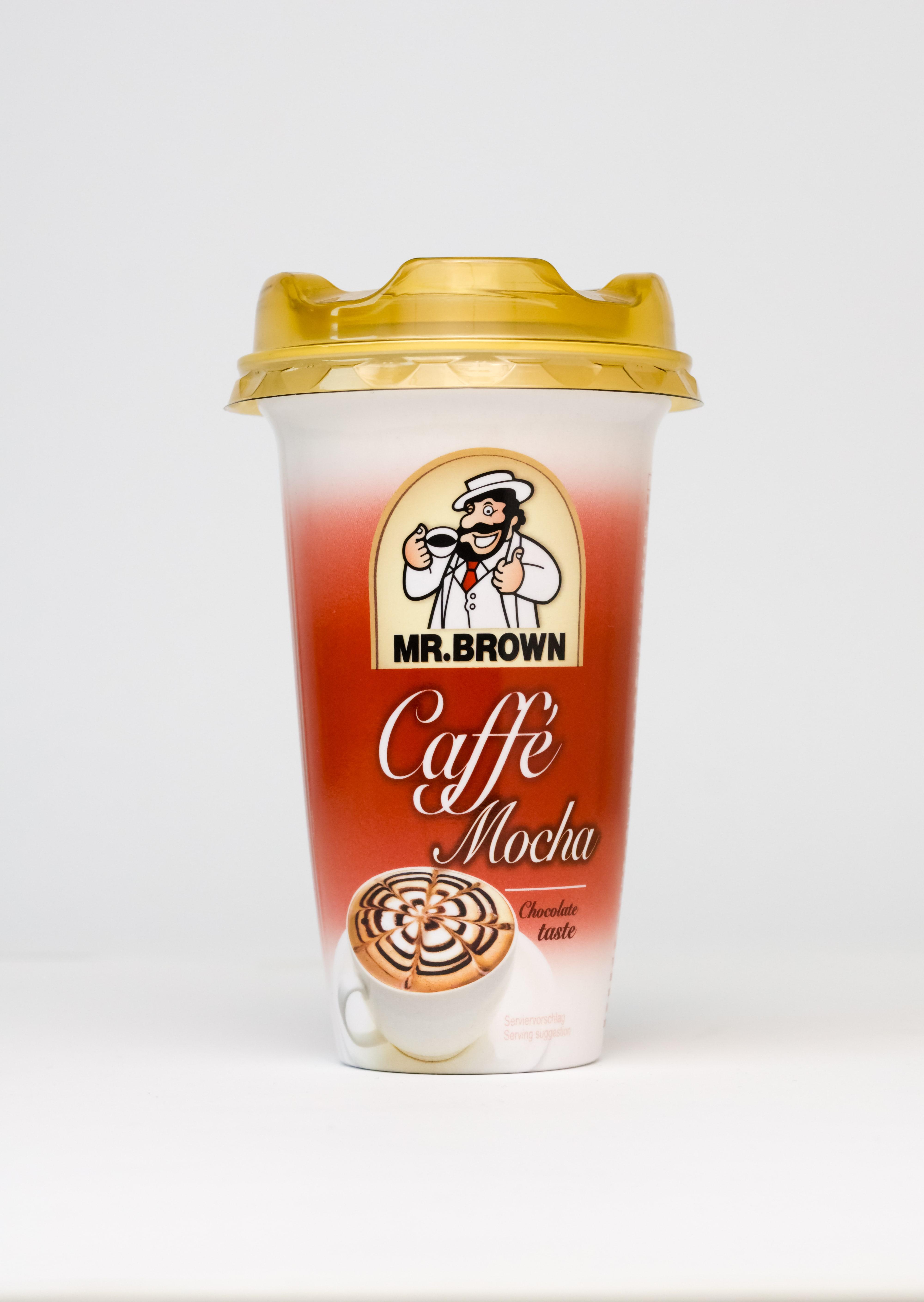 Mr. Brown ľadová káva Becher Mocha