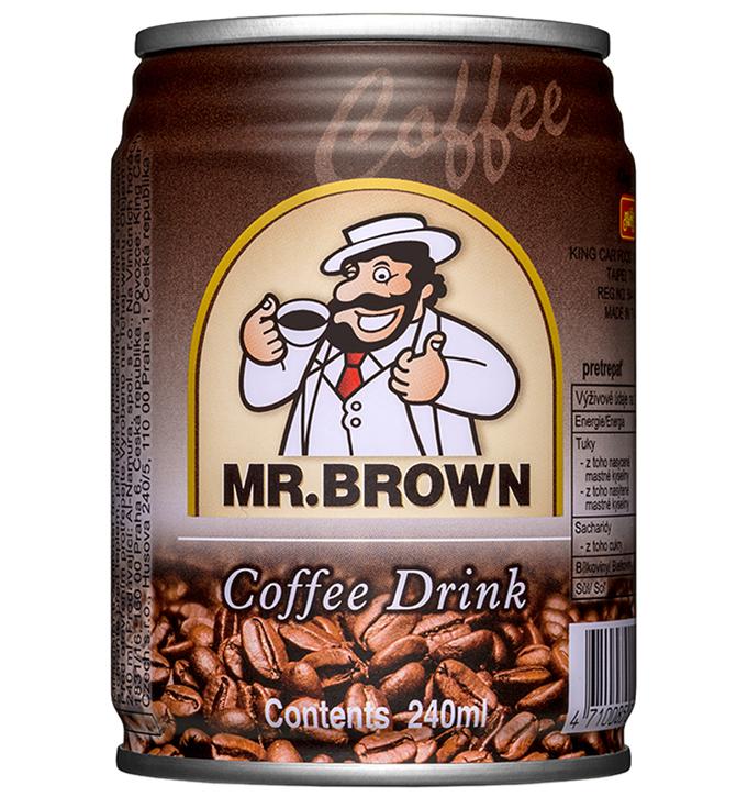 Mr. Brown ľadová káva Classic